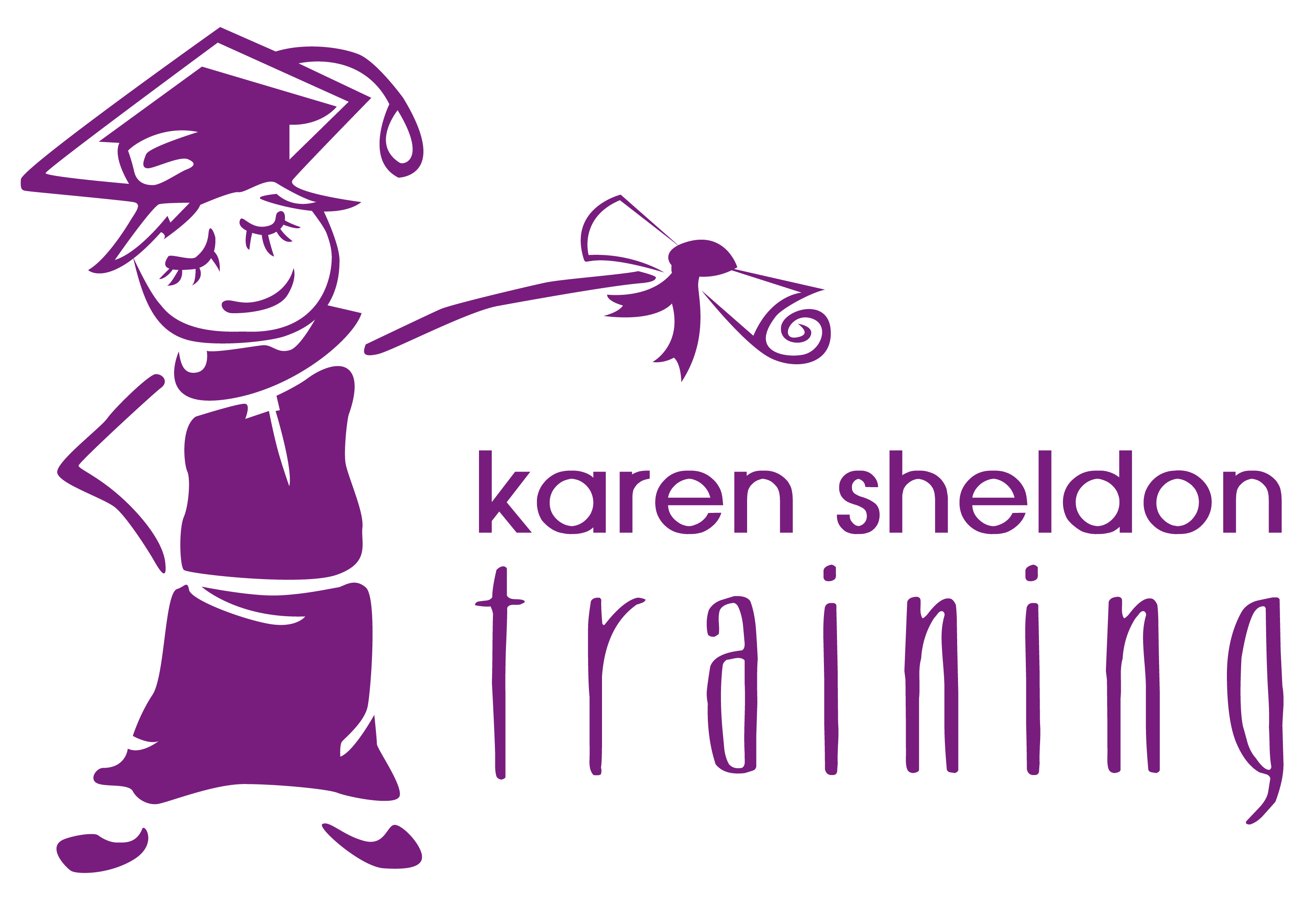 Karen Sheldon Training Logo