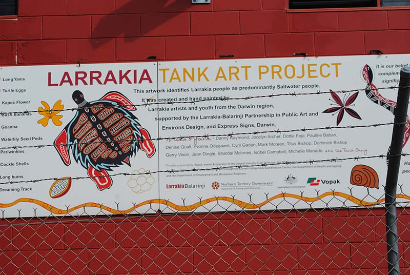East Arm Tank Mural