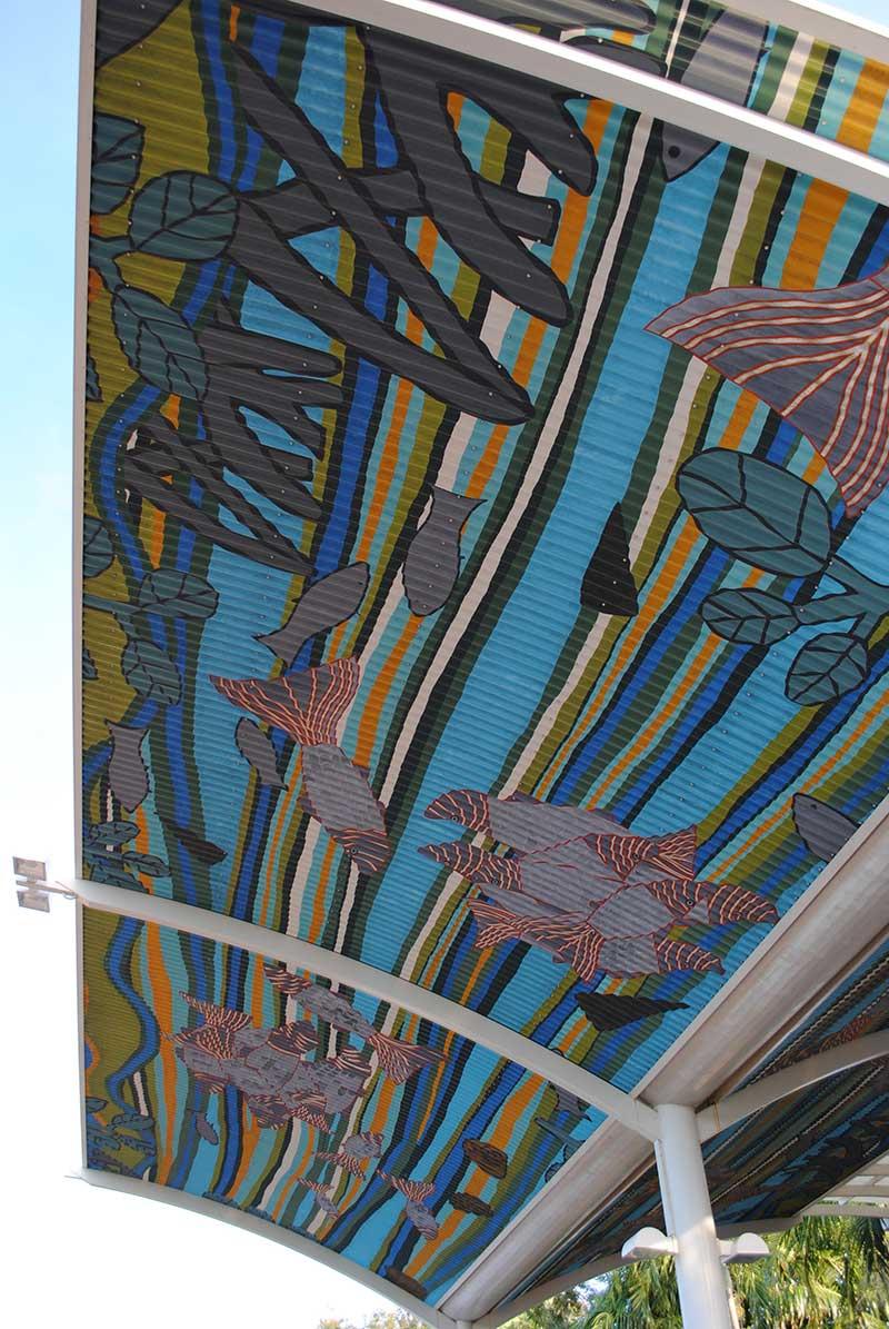 Darwin Airport Art