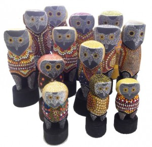stuart_McGrath_carved_owls_Larrakia_Nation